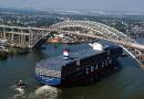 A histórica ponte Bayonne estreia novo tabuleiro elevado no porto de Nova York