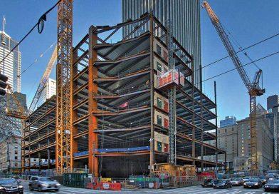 Estrutura metálica inovadora consegue montar 15 pisos em 55 dias