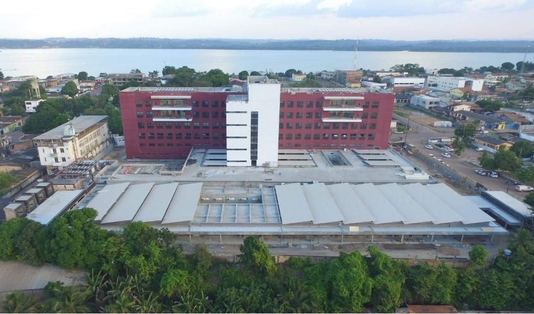Construção do Hospital Regional do Tapajós | Revista O Empreiteiro