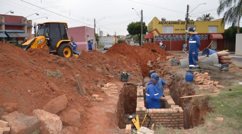 Prefeitura retoma obras de macrodrenagem no Córrego Afonso XIII em Tupã