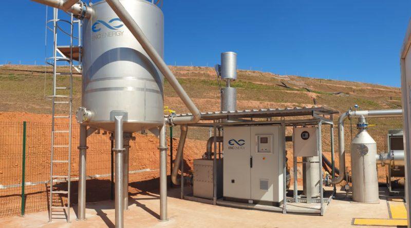 ENC Energy inaugura usina de biogás no Rio de Janeiro