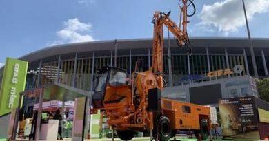 A Zoomlion revela produção de argamassa e produtos para construção localizados de alta qualidade na CIIE