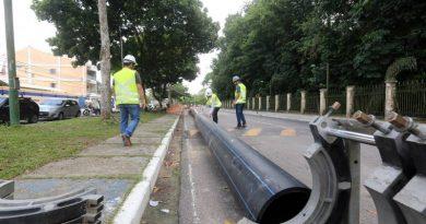 Cosanpa retoma obras paradas e avança em novos projetos