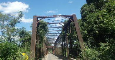 Ponte no município de Santo Hipólito