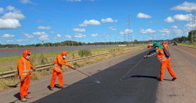 DNIT restaura 55 km de rodovia em Mato Grosso do Sul